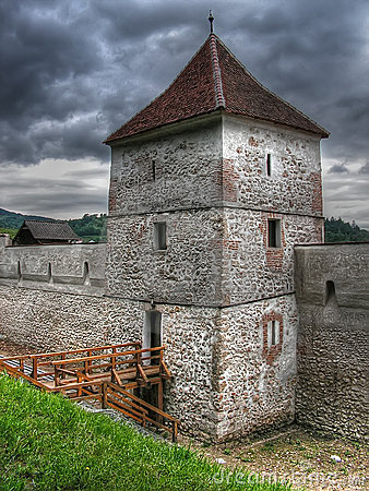 Free Brasov Fortress Old Tower Stock Images - 4158694