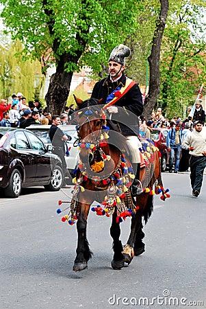 Brasov Junes Parade, may 2011 Editorial Photography