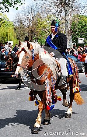 Brasov Junes Parade, may 2011 Editorial Image