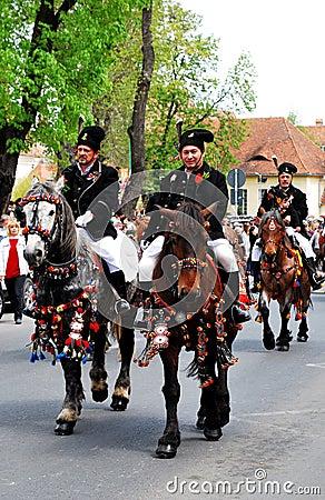 Brasov Junes Parade, may 2011, Romania Editorial Image