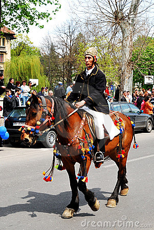 Brasov Junes Parade, may 2011, Romania Editorial Stock Photo