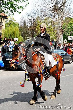 Brasov Junes Parade, may 2011, Romania Editorial Stock Photo