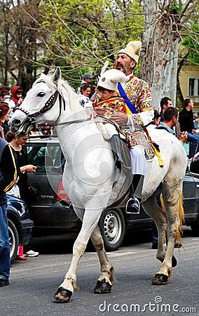 Brasov Junes Parade, may 2011, Romania Editorial Photo