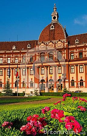 Brasov, Romania, neobaroque architecture