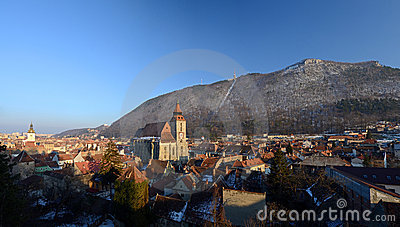 Brasov - Romania - panoramic view