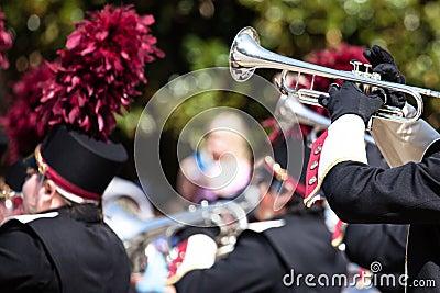 Brass band parade