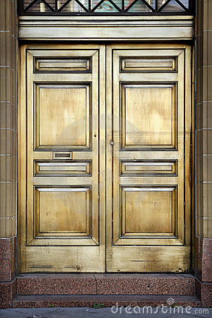 Brass Bank Doors