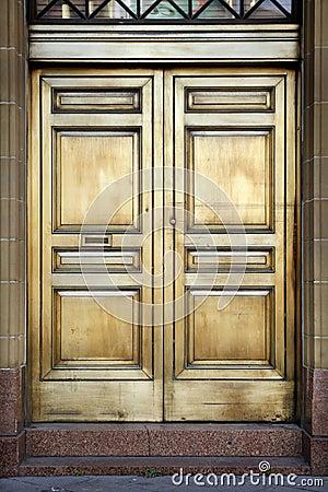 Brass Bank Doors