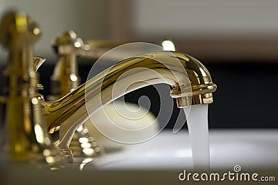 Brass Bathroom Faucet