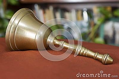 Brass bell for christmas