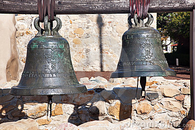 Brass Bells Mission San Juan Capistrano California