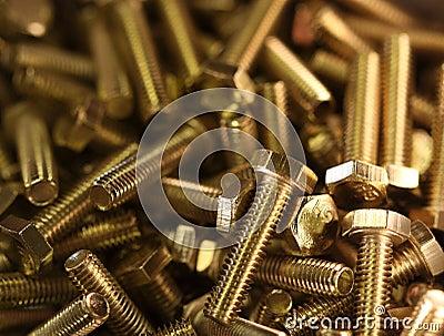 Brass bolts A
