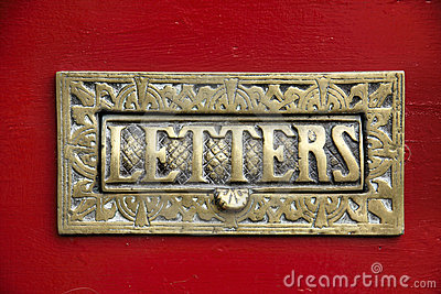 Brass Letter Box