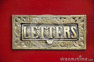 Brass Letter Box
