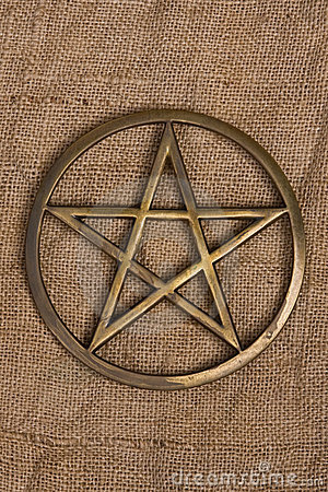 Brass Pentacle / Pentagram