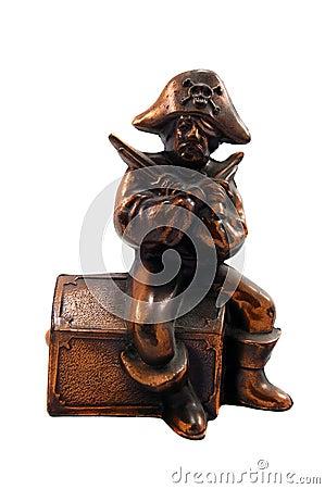 Brass Pirate Bank