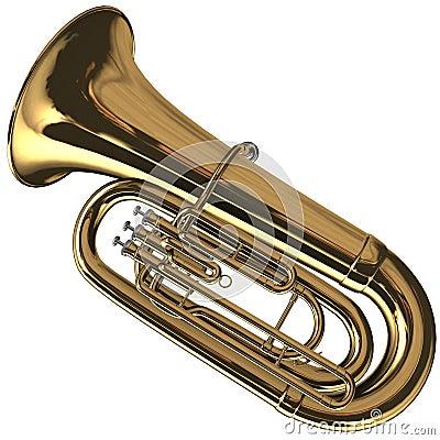 Brass Tuba