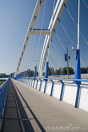 Bratislava - Apollo Bridge Stock Images - Image: 11143484