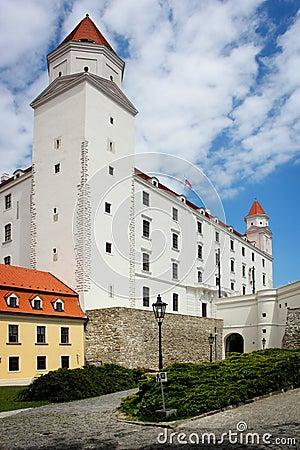Bratislava capital city castle