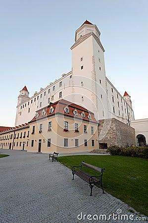 Free Bratislava Castle Stock Image - 16169831