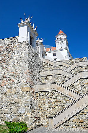 Bratislava Castle Editorial Photo