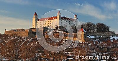 Bratislava castle - detail