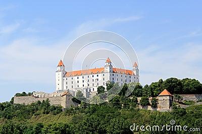 Bratislava castle. Slovakia
