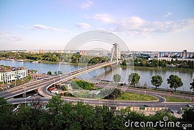 Bratislava - Danube river