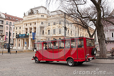 Bratislava sightseeing Editorial Photo