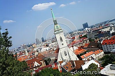Bratislava, Slovakia - city panorama