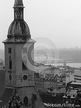 Bratislava, Slovakia  view