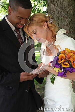 Braut u. Bräutigam