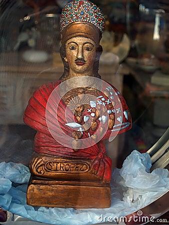 Bravade celebrations in Saint Tropez: Patron saint