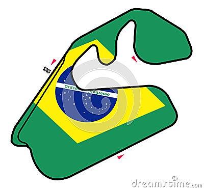Brazil circuit: Formula 1
