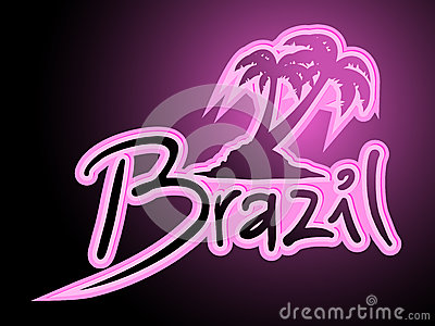 Brazil fashion palm