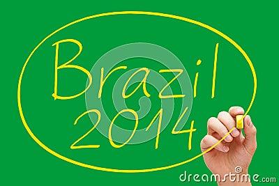 Brazil 2014 Handwriting