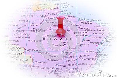 Brazil in map