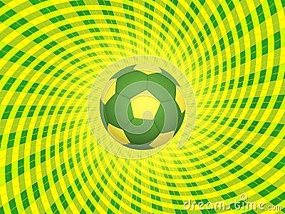 Brazil Soccer Ball Background