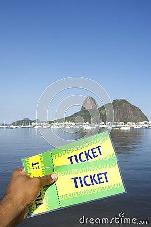 Brazil Tickets at Botafogo Sugarloaf Rio de Janeiro