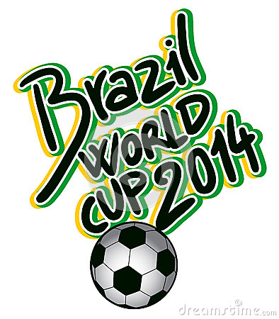 Brazil world cup Editorial Stock Image