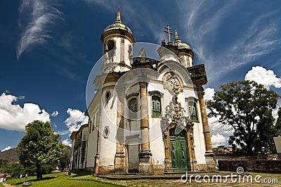 Baroque Architecture on Stock Image  Brazilian Baroque Architecture  Image  19020801