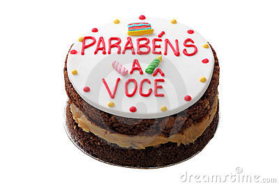 Brazilian birthday cake