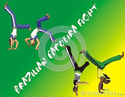 Brazilian Capoeira poster