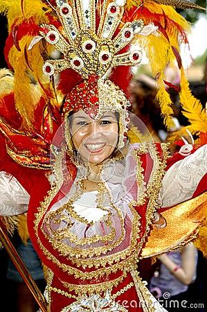 Free Brazilian Carnival. Stock Image - 4381121