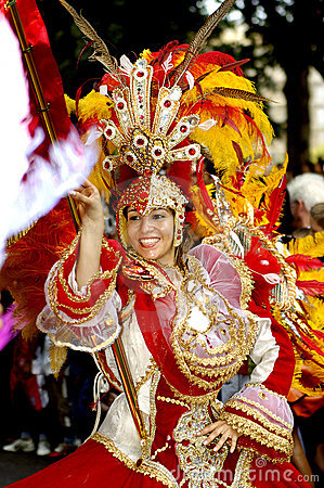 Free Brazilian Carnival. Stock Photos - 4381133