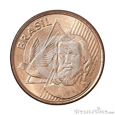 Free Brazilian Centavos Coin Stock Photos - 88509283