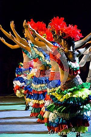 Brazilian dancers Editorial Stock Photo