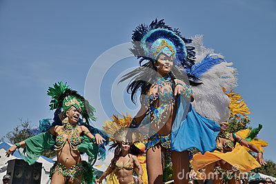 Brazilian Day in Los Angeles Editorial Stock Photo