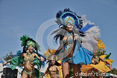Brazilian Day in Los Angeles Editorial Stock Photo