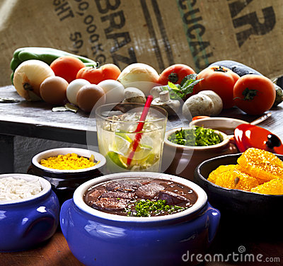 Free Brazilian Feijoada Royalty Free Stock Image - 33705126